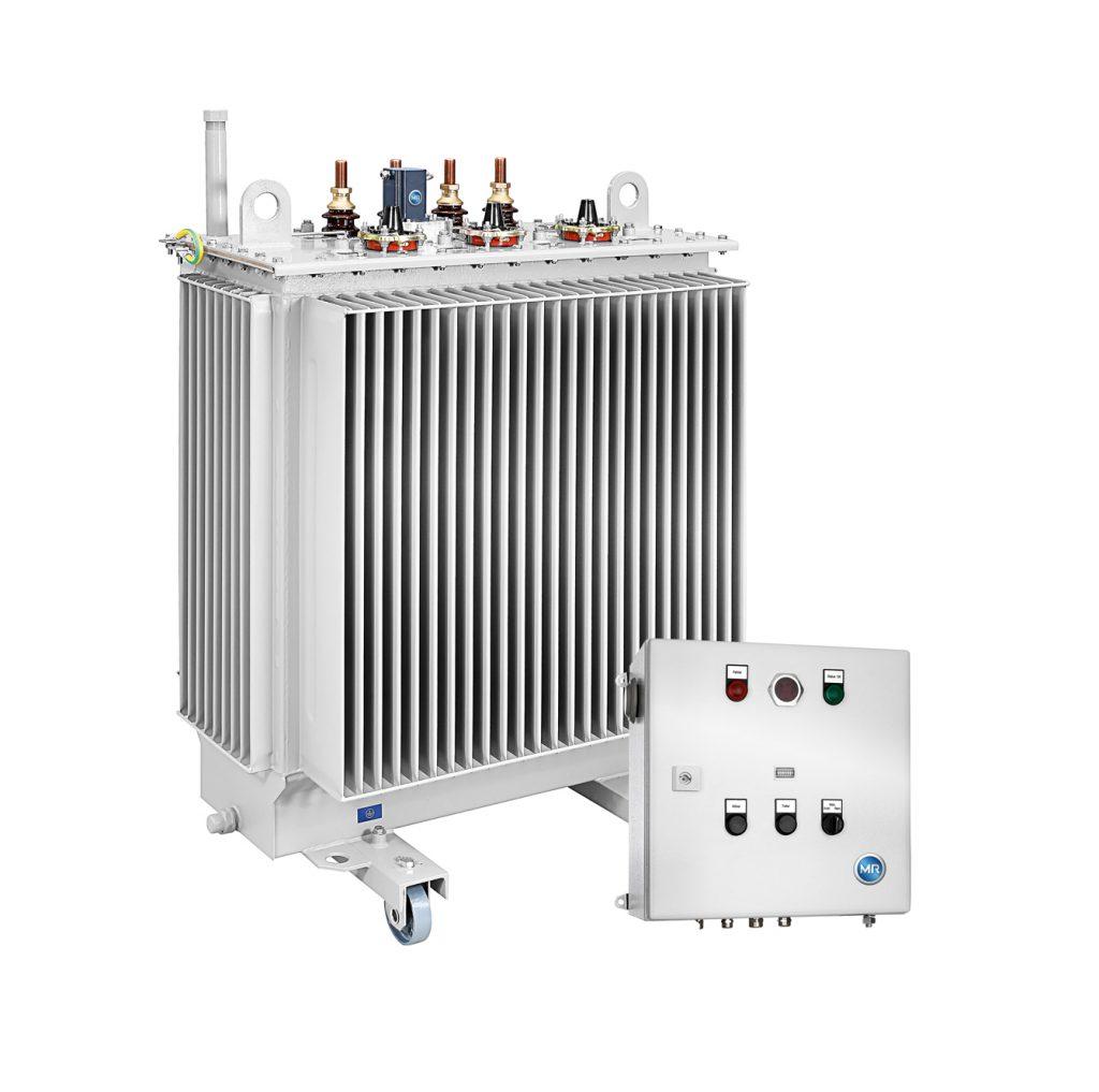 Regelbarer Ortsnetztransformator (Bild: © Maschinenfabrik Reinhausen GmbH)