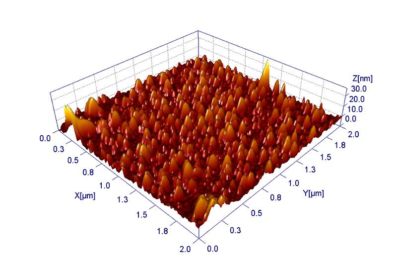 Nano-Strukturen (Grafik: Fraunhofer-Institut IGB)