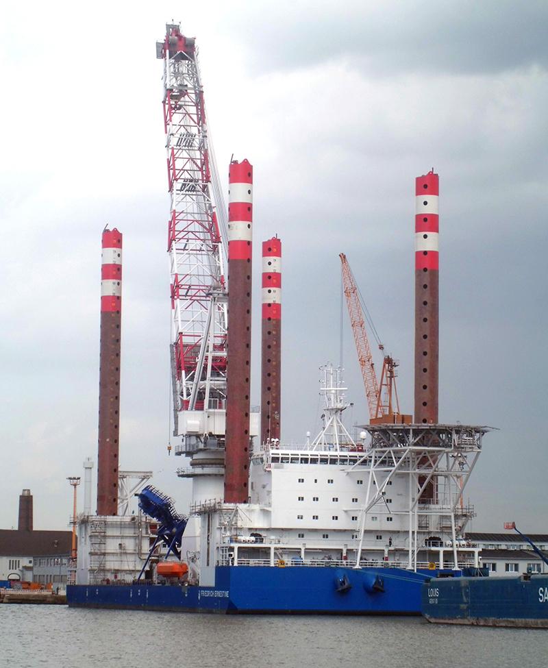 Effizientere Offshore-Logistik mit einem neuer Software (Bild: für Seeverkehrswirtschaft und Logistik)