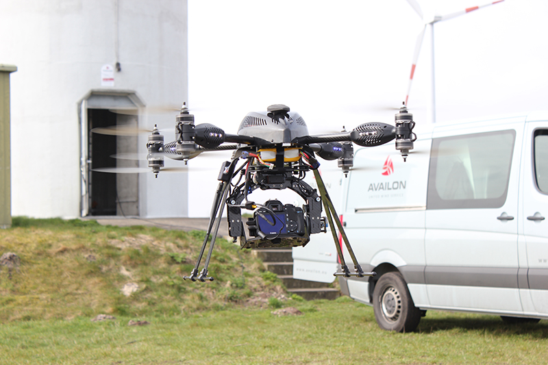 Drohne Altura ATX8 (Bild: © Availon GmbH)